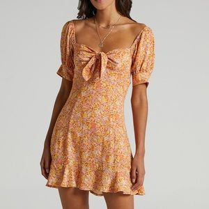 Rosa Dress in Blushing Floral, US 6